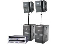 JBL VRX 900 Series PA System For Sale