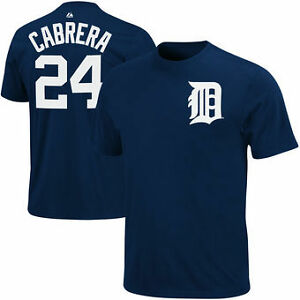 Miguel Cabrera  #24 Name & Number T Shirt at JJ Sports!