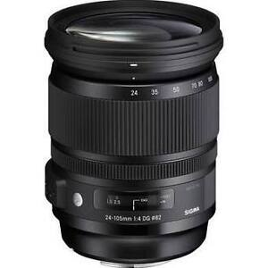 Barely Used Sigma 24-105mm f4 DG OS HSM Canon (ART)