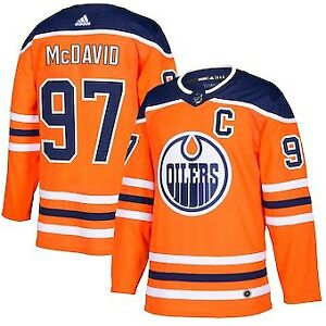 2fb1e4c75  140 Size M Authentic Connor McDavid Edmonton Oilers jersey