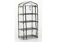 Brand New 4-Tier Mini Growhouse Garden Greenhouse - 1 left to sell, £10 each!