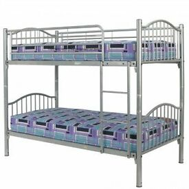 steel bunk beds