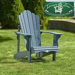 Furniture Leisure Line Adirondack Chairs Taupe Finish For