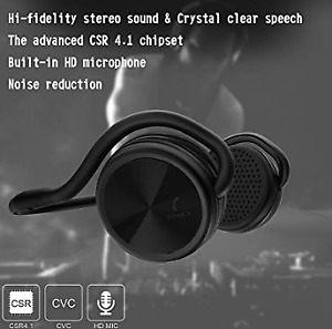 Wireless Stereo Sports Earphones with Mic (NEW)