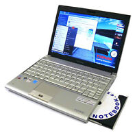 Beautiful Toshiba Laptop,Webam, UltraPortable, C2D 1.2GHz/3G/160