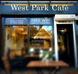 Permanent Part time waitress/ waiter required for busy cafe in Leeds