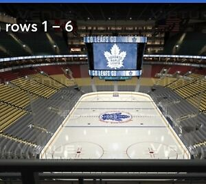 Sec 303, Row 3, $150/ticket ($300 pair) Maple Leafs tickets