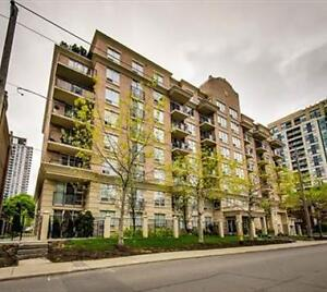 Yonge and Eglinton Condo for rent 1+1, parking, locker