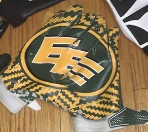 GAME USED Edmonton Eskimos matching receiver gloves