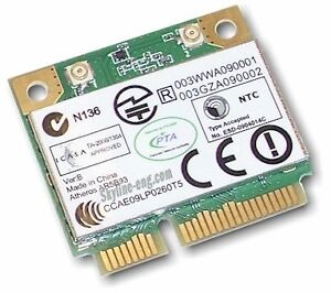 Laptop Parts - mini PCIe WLAN, 20Gb Hard Drive