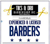 EXPERIENCED & LICENSED BARBER WANTED ASAP!!!