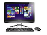 Lenovo B50-35 23.8-Inch Touchscreen All-in-One PC (Black)