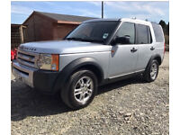 2006 LAND ROVER DISCOVERY 3 TDV6 SILVER LOW MILEAGE NEW MOT