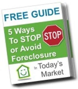 STOP FORECLOSURE WITH THIS FREE REPORT