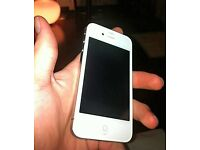 iPhone 4s in white on t-mobile/ EE