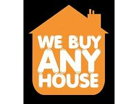 WE BUY HOUSES FOR CASH!