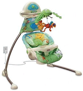 Baby Swing - Fisher-Price Cradle 'n Swing - Rainforest