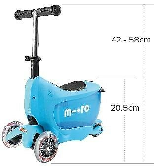 mini micro 3 in 1 scooter in tilehurst berkshire gumtree. Black Bedroom Furniture Sets. Home Design Ideas