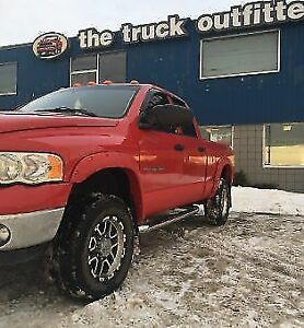 "3"" Stainless Steel Side Step Bars - FORD DODGE GM CHEV - $249!"