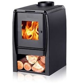 7kw Scandinavian log burning stove.