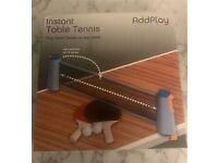Instant table tennis set