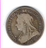 Coin 1894 Great Britain Schilling