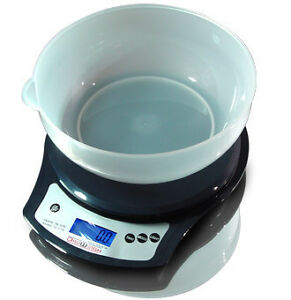 DigiWeigh DW-81 Tabletop Kitchen Bowl Scale 3kg (New)