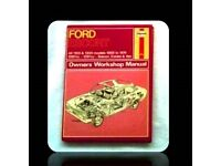 HAYNES CAR SERVICE & REPAIR MANUAL - FORD ESCORT - FOR SALE