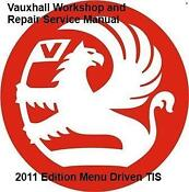Vauxhall Vectra Workshop Manual