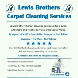 Lewis Brothers Carpet Cleaning Services