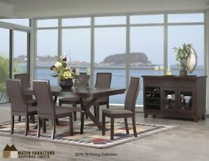 LOTS OF DINING ROOM SETS AT HOMETOWN FURNITURE & MATTRESS