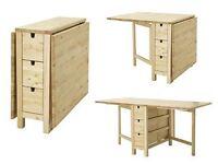 PRICE NEGOTIABLE! - IKEA Norden Table
