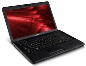Toshiba L600 LapTop (Black) like new!