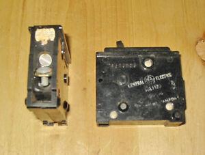 GE TQL 15 AMP, 1 POLE, 120 VAC CIRCUIT BREAKER ~ RARE!