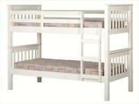 White Bunk Bed BRAND NEW
