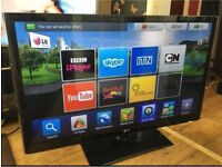 "Lg 47"" smart 3d tv thin tv - NO OFFERS £180"