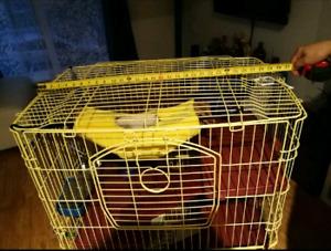 PRIX NÉGOCIABLE Cage furets avec accessoires