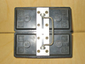 TAYLOR ELECTRIC 60 AMP MAX, 240 VOLT FUSE HOLDERS ~ VERY RARE!