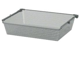 Ikea komplement grey mesh drawer with fixings 100cm wide £12