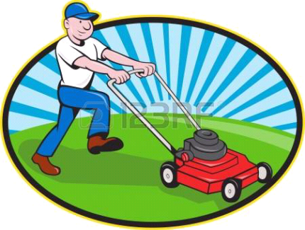 Lawnmowing & gardening services