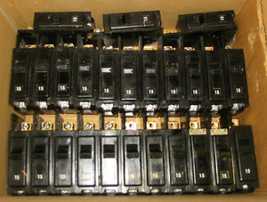 SIEMENS (ITE) 'TYPE BQ' BOLT-ON CIRCUIT BREAKERS ~ MIXED LOT!