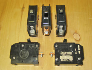 TAYLOR ELECTRIC 'TYPE Q'  20 AMP 1 POLE CIRCUIT BREAKERS ~ RARE!