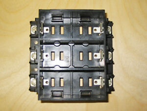 AEC 6 CIRCUIT FUSE BUS BLOCK (P/N: 3002495) ~ VERY RARE!