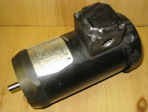 BALDOR 1/2 HP, 230/460 VAC, 3 PHASE, 1725 RPM MOTOR ~ MINT!