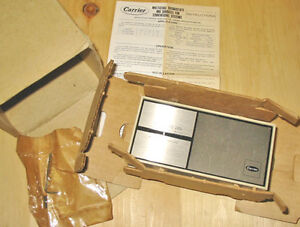 CARRIER HH07AT170 HEATING-COOLING THERMOSTAT ~ RARE/NEW!