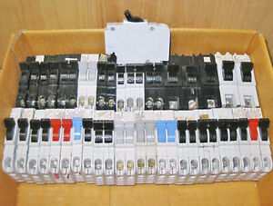 FPE (STAB-LOK) TYPE NC & TYPE NA CIRCUIT BREAKERS ~ MIXED LOT!