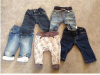 Baby trousers/jeans bundle