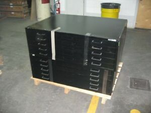 Map Cabinets , Nearly New , 5 Drawers in Each, 2 Units Available