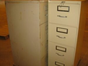 Filing Cabinets 2-4 drawers