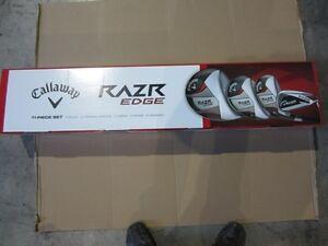 CALLAWAY RAZR EDGE SET 11PCS NEW IN BOX